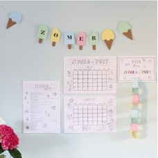 Zomer pakket ( Aftel kalender, Zomer kalender en Bucket list)