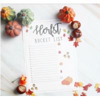 Herfst Bucket list zonder tekst