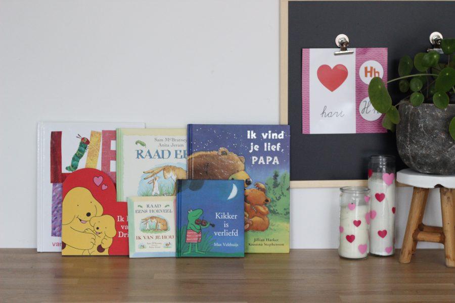 De kinderboeken voor Valentijn